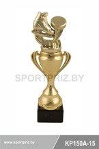 Золотой кубок KP150A-15 хоккей с шайбой