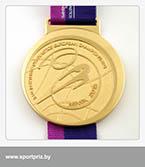 золотая медаль чемпионата Европы по художественной гимнастике