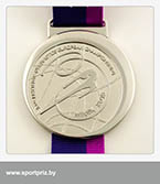 серебряная медаль чемпионата Европы по художественной гимнастике