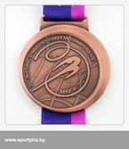 бронзовая медаль чемпионата Европы по художественной гимнастике