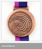 бронзовая медаль чемпионата Европы по художественной гимнастике реверс