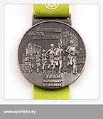 Медаль Минский полумарафон финишеру на 10 км.
