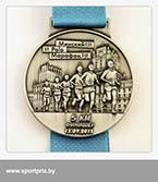 Медаль Минский полумарафон финишеру на 5 км.