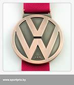 Медаль Минский полумарафон финишеру на 21,097 км. реверс