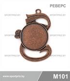 Медаль M101 реверс