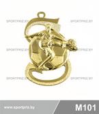 Медаль M101 золото