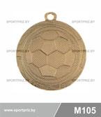 Медаль футбол M105 золото