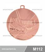 Медаль хоккей M112 бронза