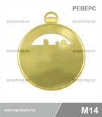 Медаль M14 реверс