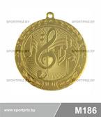 Медаль M186 золото