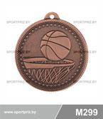 Медаль баскетбол M299 бронза