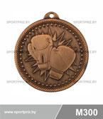 Медаль бокс M300 бронза