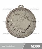 Медаль бокс M300 серебро