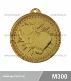 Медаль бокс M300 золото