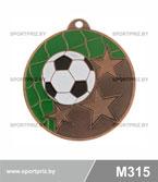 Медаль футбол M315 бронза