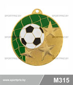 Медаль футбол M315 золото