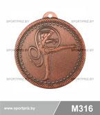 Медаль гимнастика художественная M316 бронза