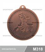 Медаль M318 бронза