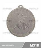 Медаль M318 серебро
