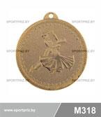 Медаль M318 золото