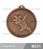 Медаль дзюдо M331 бронза