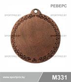 Медаль дзюдо M331 реверс