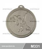 Медаль дзюдо M331 серебро
