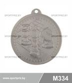 Медаль  M334 серебро