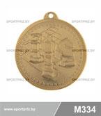 Медаль  M334 золото