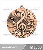 Медаль M3550 бронза