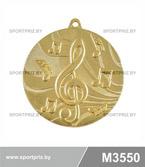 Медаль M3550 золото