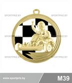 Медаль M39 золото