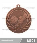 Медаль футбол M501 бронза