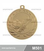 Медаль футбол M501 золото