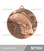 Медаль M7950 бронза