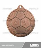 Медаль футбол M885 бронза