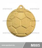 Медаль футбол M885 золото