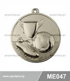 Медаль футбол ME047 серебро