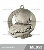 Медаль футбол ME053 серебро