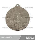 Медаль M003 серебро