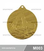 Медаль M003 золото