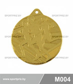 Медаль M004 золото