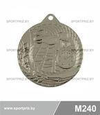 Медаль M240 серебро