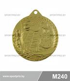Медаль M240 золото