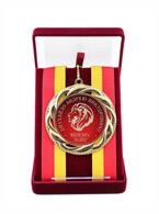 медаль диаметром 70 мм. в футляре К203