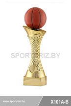 Приз золотой баскетбол X101A-B