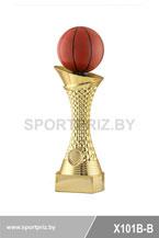 Приз золотой баскетбол X101B-B