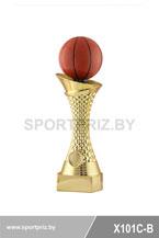 Приз золотой баскетбол X101C-B