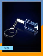 брелок стеклянный SH88