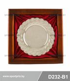 Сувенирная тарелка в багете D232-B1